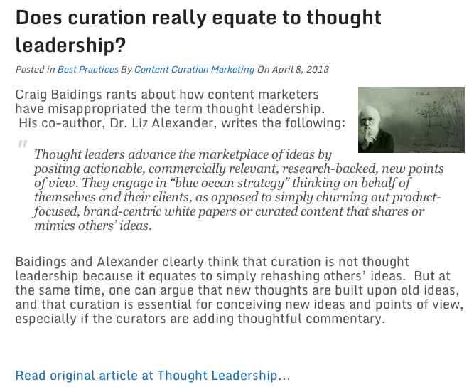 CurationGoogle+Authorship