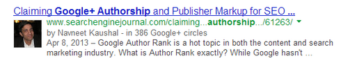 Google+Authorship