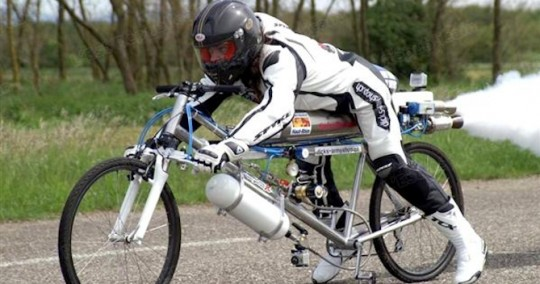 Rocket-Powered-Bicycle