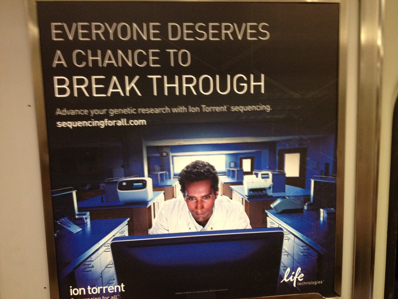 ion torret subway ad