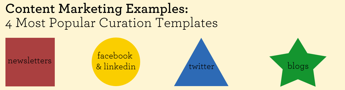 Content Marketing Examples: 4 Most Popular Curation Templates ...