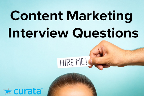 interview questions answers for content marketing template