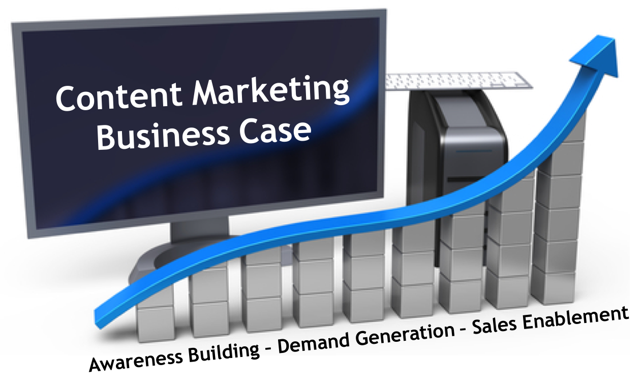 Content Marketing Business Case: Awareness Building, Demand Generation and Sales Enablement