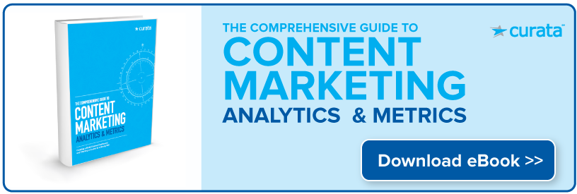 Content marketing analytics and metrics eBook