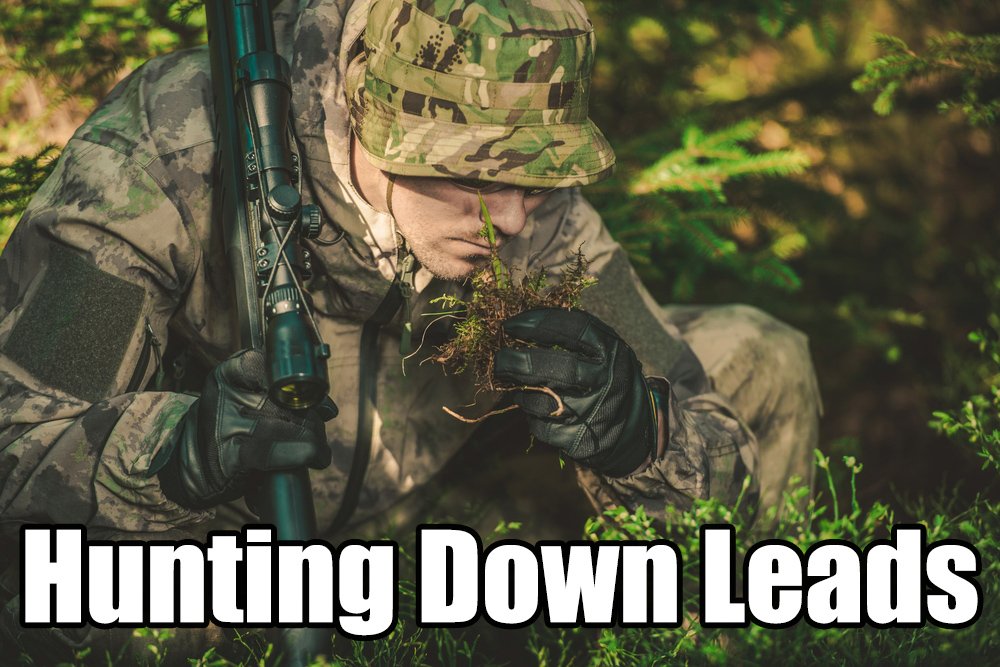 Hunting down leads