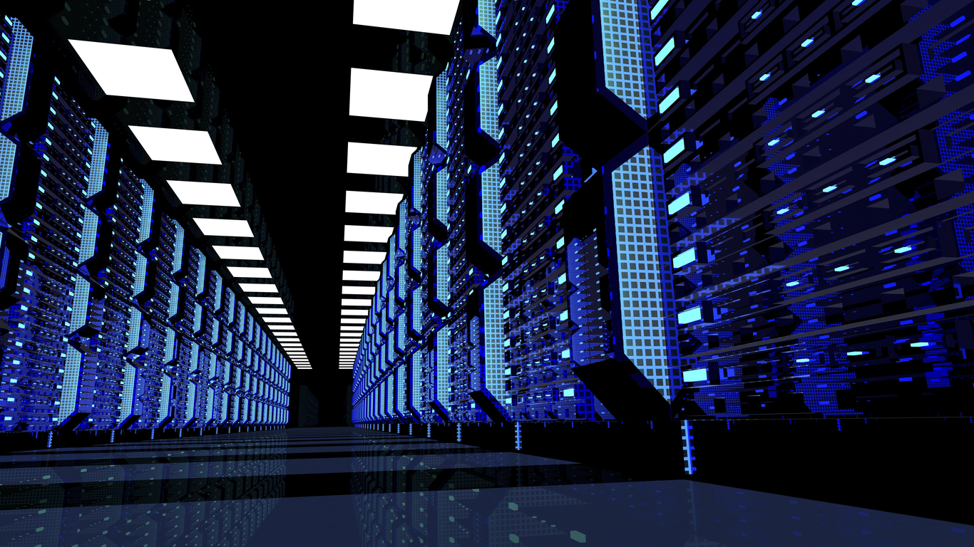 Big Data Server Room Artificial Intelligence Can Now Decipher