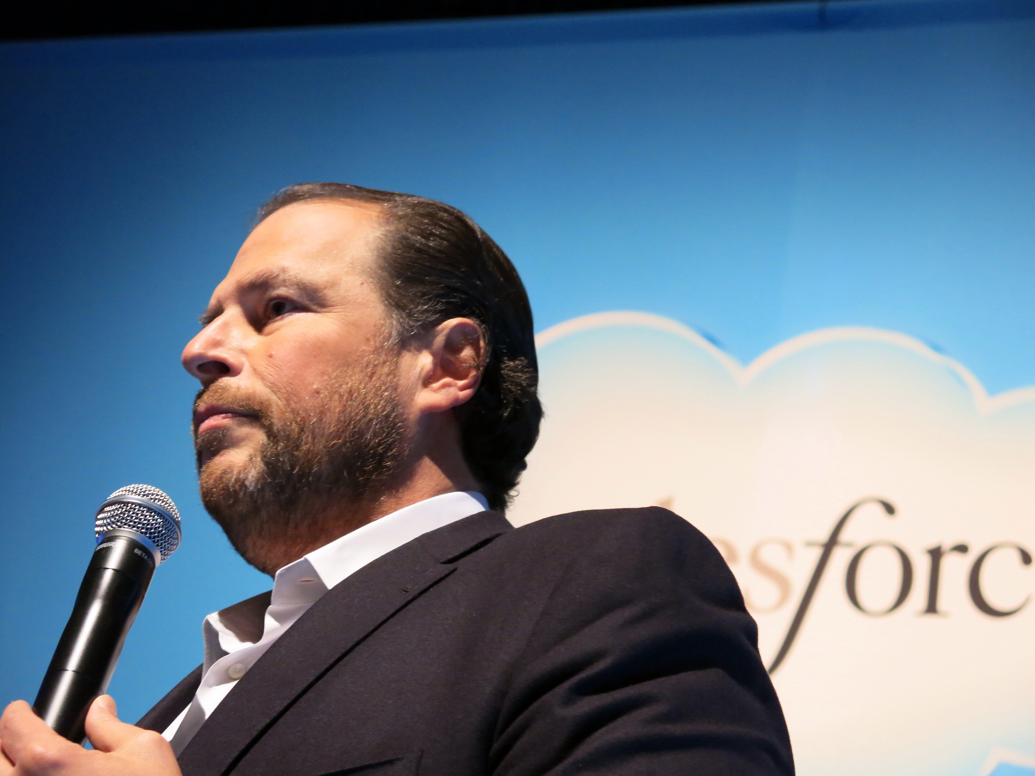 Marc Benioff is taking Salesforce all in on marketing AI