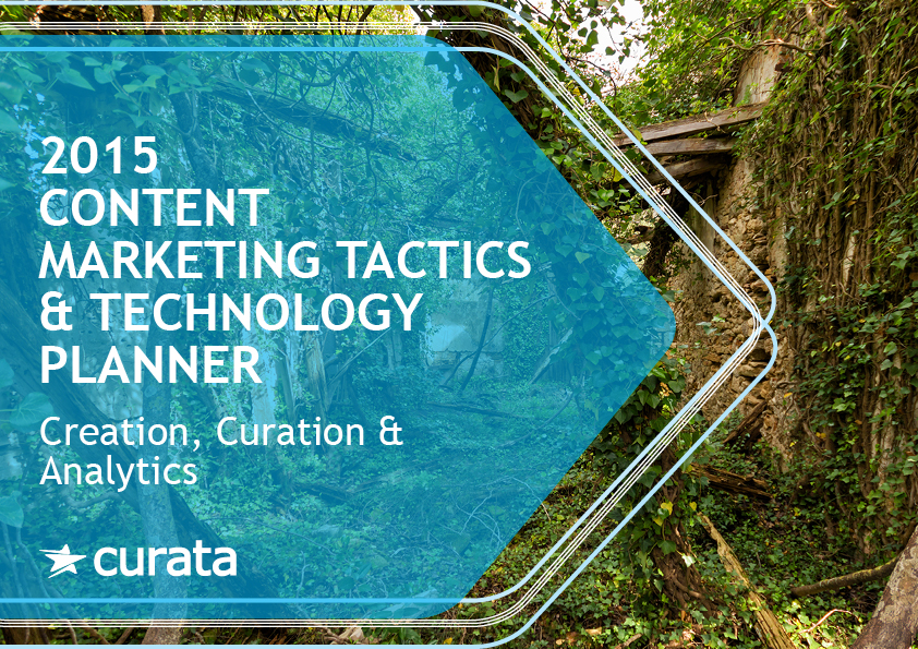 2015 Content Marketing Tactics & Technology Planner
