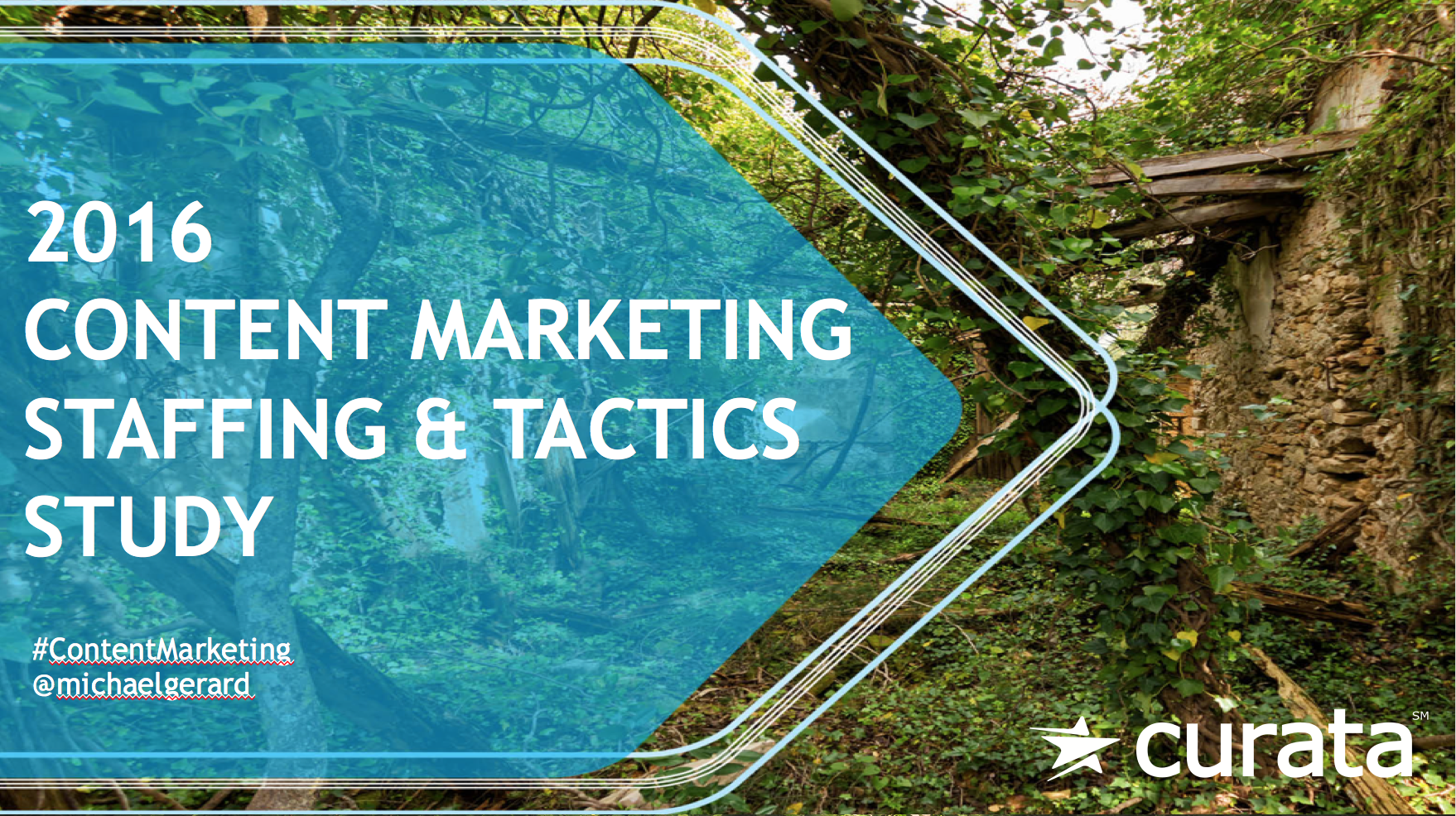 2016 Content Marketing Staffing & Tactics Study