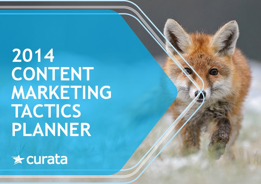 2014 Content Marketing Tactics Planner