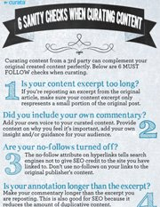 6 Sanity Checks When Curating Content