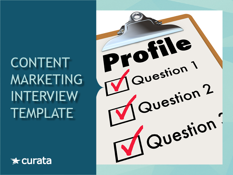 Content Marketing Interview Template
