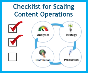Checklist for Scaling Content Operations