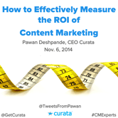 How to Effectively Measure the ROI of Content Marketing