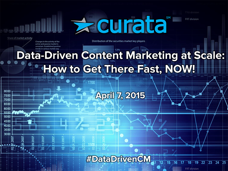 Data-Driven Content Marketing at Scale: How to Get There Fast, Today